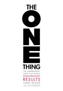 The One Thing by Gary Keller Book Cover Books for Lazy People, Books for Procrastinators Self-Development books on procrastination